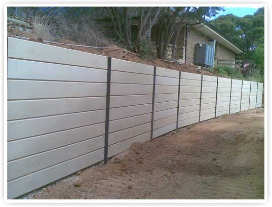 Robby spencer retaining walls adelaide south australia for Retaining walls adelaide